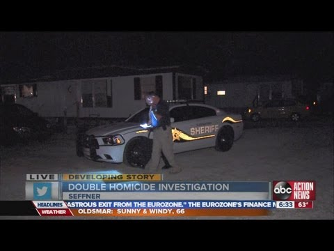 0 Mom finds son, other dead in mobile home