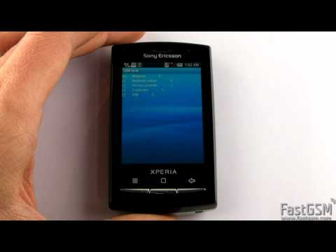 Unlock Secret Menu on Sony Ericsson Xperia X8. X10. Mini and Mini Pro