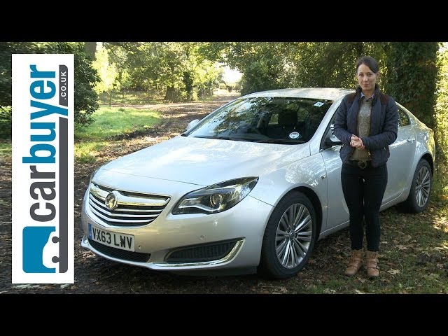 Vauxhall Insignia hatchback review - CarBuyer - YouTube