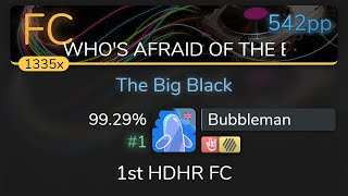 Bubbleman | The Quick Brown Fox - The Big Black [WHO'S AFRAID] 1st +HDHR FC 99.29% {#1 542pp FC}