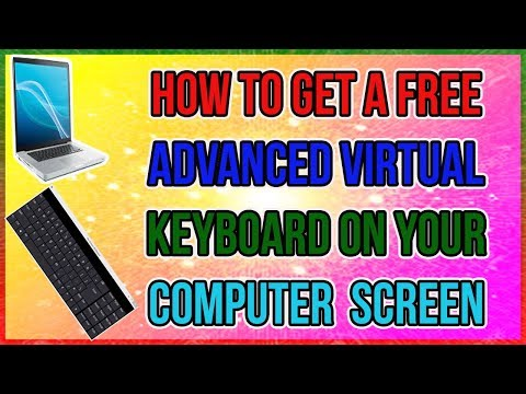 How to get a free advanced virtual keyboard on your computer  screen hindi urdu