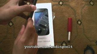 Samsung Galaxy Nexus i9250 [GSM/International] - Unboxing