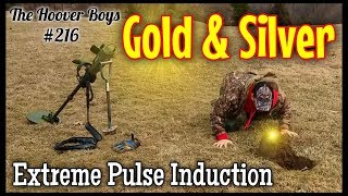 Metal Detecting Old Gold & Silver Coins! Extreme Pulse Induction Garrett ATX