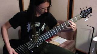 GORGUTS Colin Marston - Pleiades' Dust (bass playthrough)