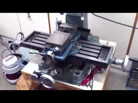 GRBLshield CNC Milling Machine Conversion