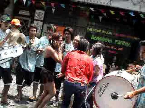 Songkran festival in Patpong soi 1