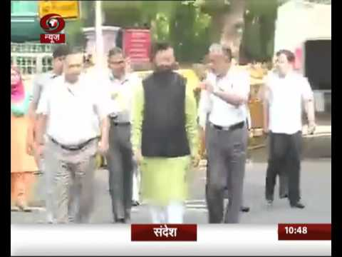 Union Environment Minister Prakash Javadekar visits Delhi's Natural History museum