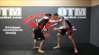 BJJ TAKEDOWN FINISH FROM SPRAWL