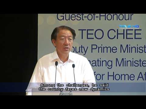 DPM Teo: Other possible fault lines have emerged in Singapore society - 24Sep2013