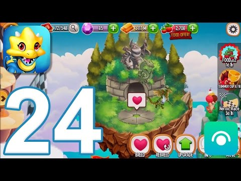 Dragon City - Gameplay Walkthrough Part 24 - Level 25. Breeding Sanctuary (iOS. Android)