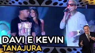 """DAVI E KEVIN cantam """"Tanajura""""   JOGO DO BANQUINHO   RAUL GIL"""
