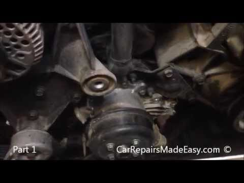 Ford Explorer 4.0L water pump replacement Part 1