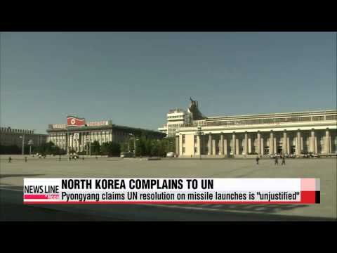 N. Korea files official complaint on UN resolution on missile launches