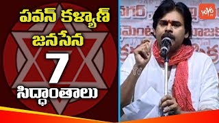 Pawan Kalyan About 7 Theories In Janasena Party | Jana Sena Party Meeting | Telangana
