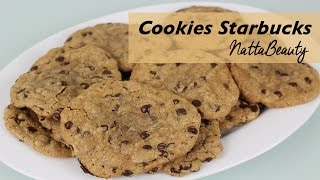 COOKIES CON CHOCOLATE, COOKIES CON PEPITAS DE CHOCOLATE, COOKIES STARBUCKS