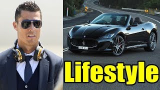 Cristiano Ronaldo Lifestyle, School, Girlfriend, House, Cars, Net Worth, Family, Biography 2017