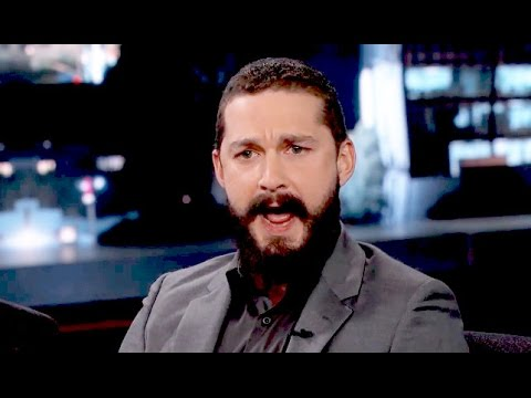 Shia Labeouf Talks Spitting On A Cop On Jimmy Kimmel Live