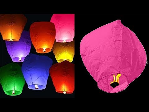 Download How To Make A Sky Lantern At Home - DIY Crafts Mp4 baru
