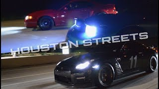 Houston STREET RACING - Procharged Camaro, 850hp Hellcat, Whipple Terminator, 750hp GT-R and more!!!