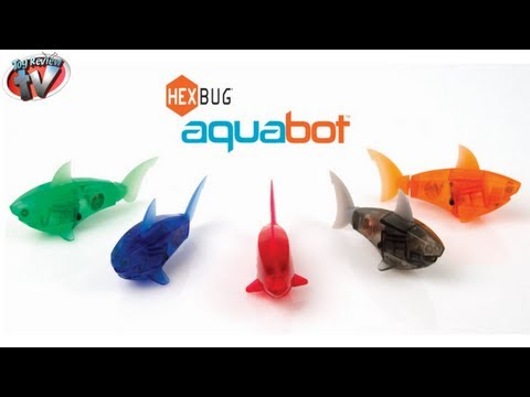 HEXBUG Aquabot Smart Fish & Tank Toy Review. Innovation First