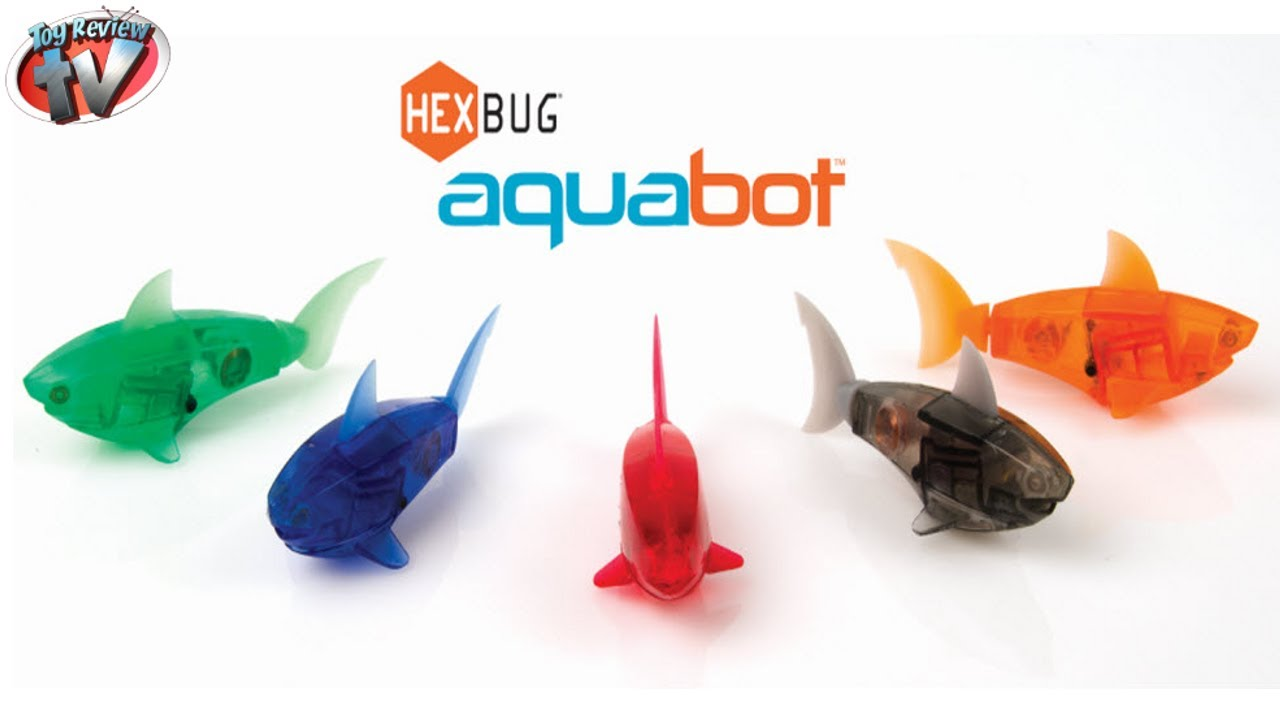 hexbug aquabot smart fish tank toy review innovation ForAquabot Smart Fish
