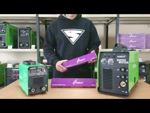 Elektrody spawalnicze IWELD E6013. Opis, spawanie stali 7mm, elektrody MMA