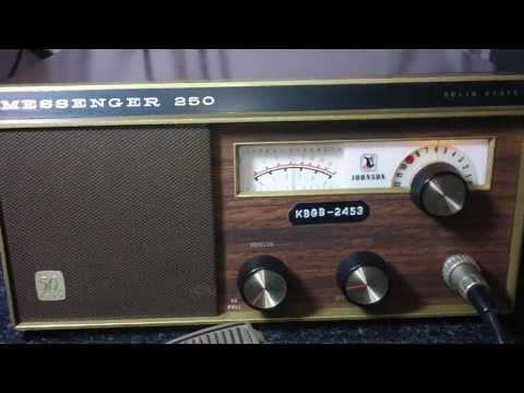 E.F. Johnson Messenger 250 50th Golden Anniversary CB Radio