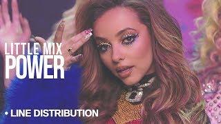 download lagu Little Mix - Power : Line Distribution Color Coded gratis