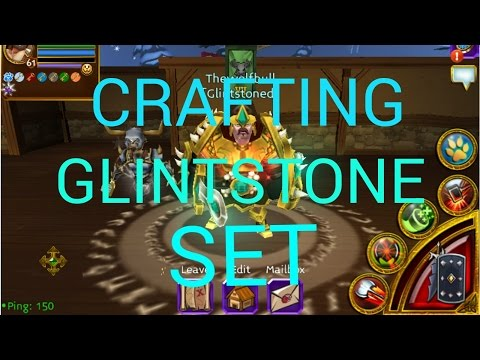 Arcane Legends Crafting Glintstone Set