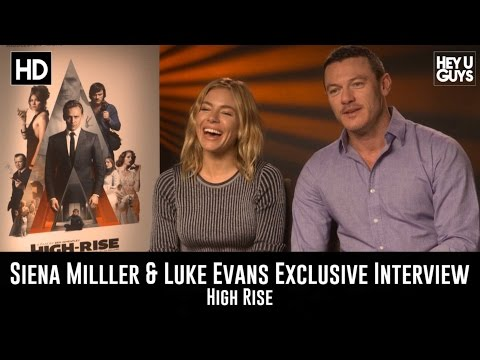 Sienna Miller & Luke Evans Exclusive Interview - High Rise