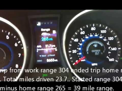 Hyundai Santa FE 2.0T Fuel Gauge Issue - YouTube