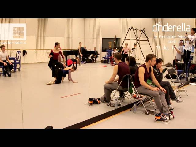 Christopher Wheeldon's new Cinderella - Making of part 1