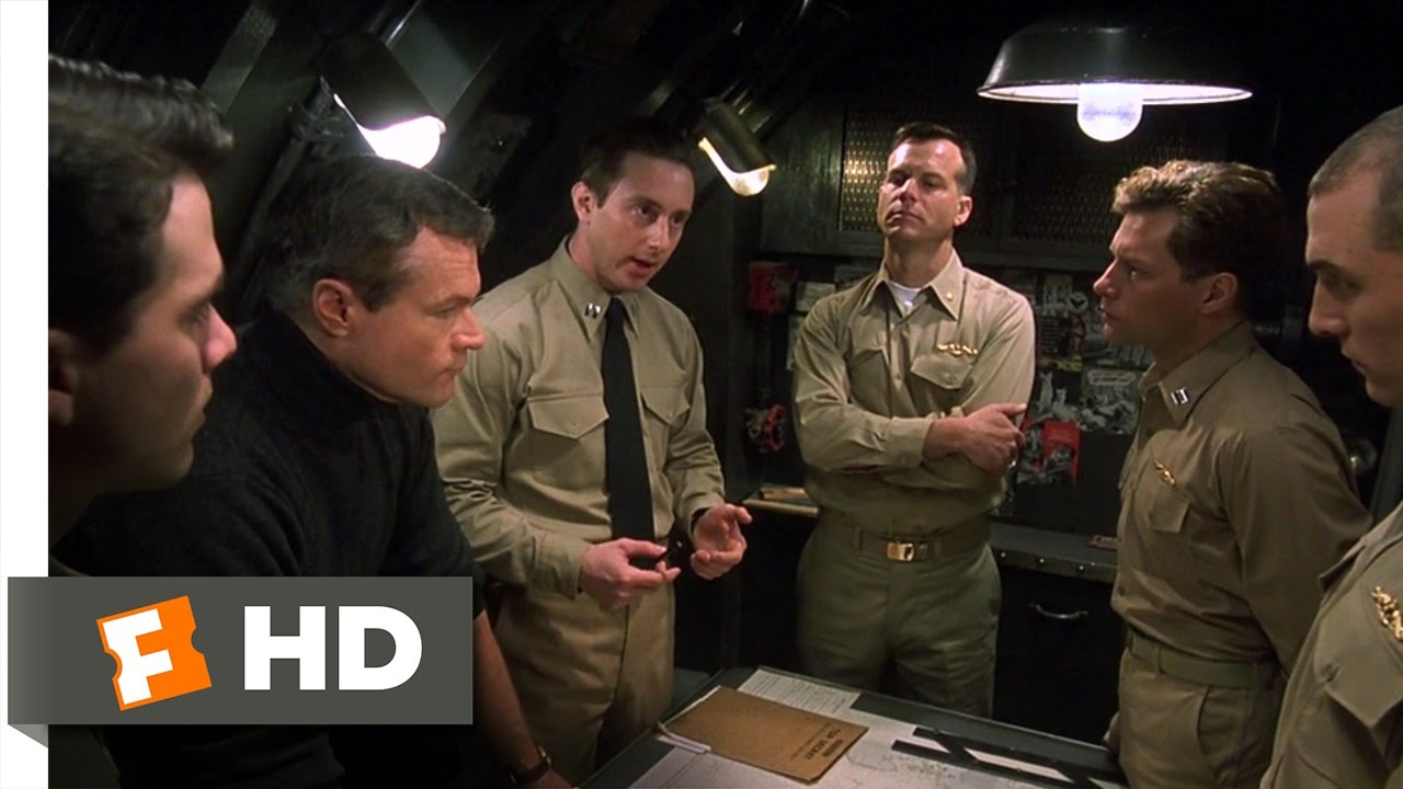 U 571 3 11 Movie Clip Mission Briefing In Submarine