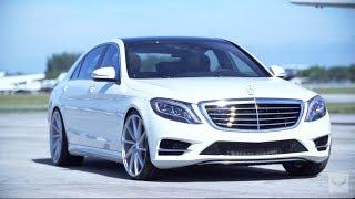 "2014 Mercedes-Benz S550 on 22"" Vossen CVT | Executive Package (W222)"
