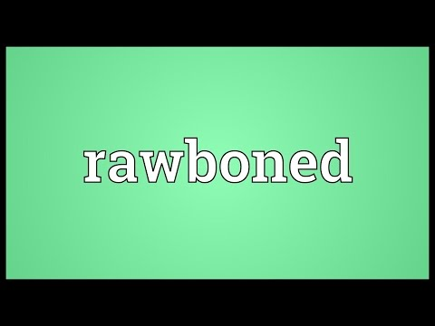 Header of rawboned