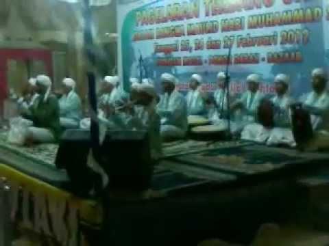 AhbaburrasuL Di Pagelaran Terbang Ganal Dan SyaiR MauLid Angkatan Muda Sabilal Muhtadin Banjarmasin