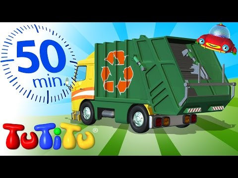 TuTiTu Specials | Garbage Truck | And Other Popular Toys on Wheels | 50 minutes Special