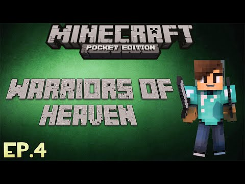 LANA GRIS WARRIORS OF HEAVEN Ep4 Minecraft PE