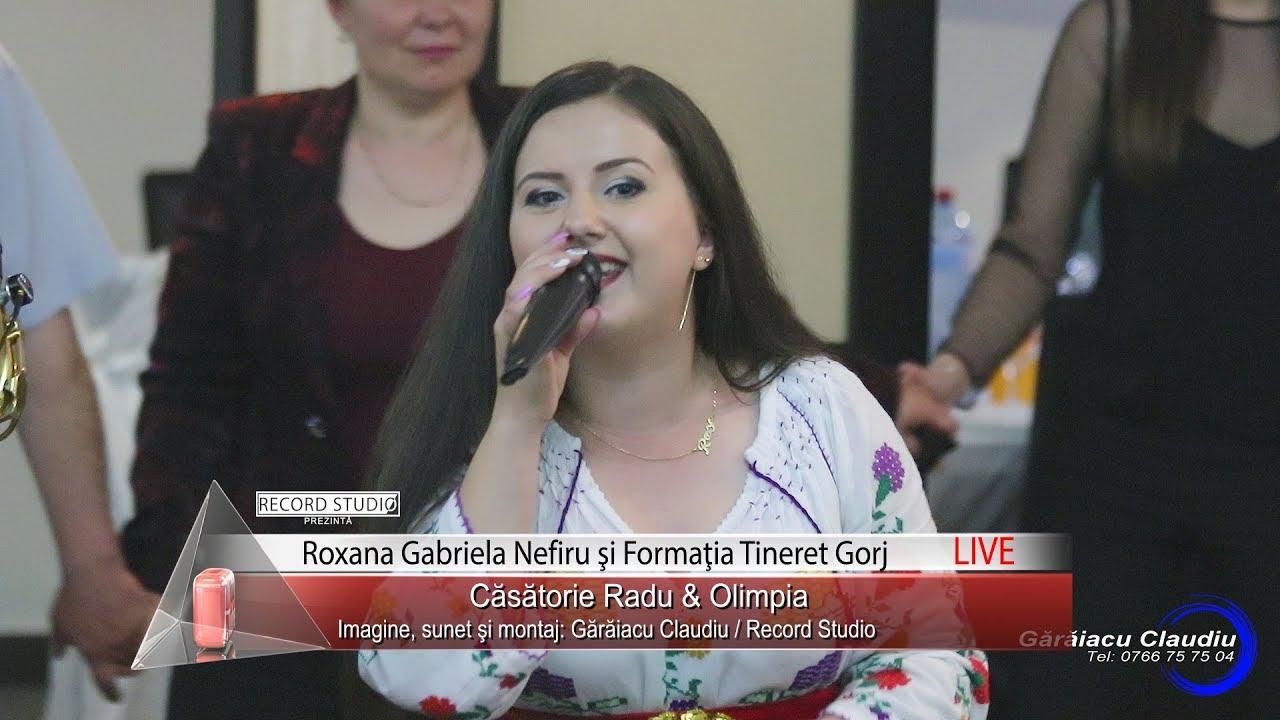 Roxana Gabriela Nefiru - Am fost patimasa, Nu ma las si nu ma dau | LIVE Casatorie Radu & Olimpia