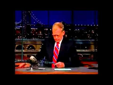Drill Instructor SSGT James Mason and United States Marines on David Letterman September 5, 2011
