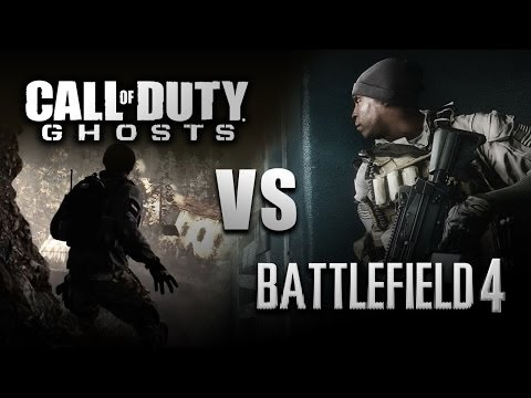 Battlefield 4 VS Call of Duty: Ghosts