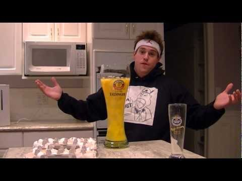 Drinking 50 Raw Eggs From The World's Biggest Beer Glass