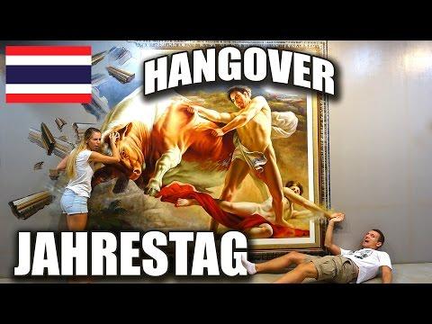 7,5 Jahre Beziehung - Jessis Hangover - 3D Art Museum - Art in Paradise Bangkok   VLOG #139
