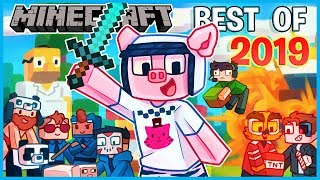 MINECRAFT - BEST OF 2019 (I AM WILDCAT & FRIENDS Funniest Moments)