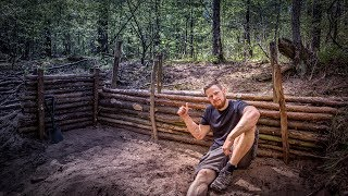 Bushcraft Super Shelter - Survival Camp 2.0 Lager Lagerbau - Deutschland deutsch #001