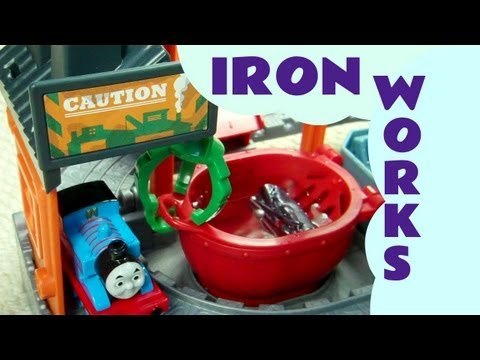 Thomas at The Ironworks Set Thomas And Friends Take N Play Kids Toy Train Set Thomas And Friends