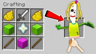 HOW TO MAKE KNIFEY IN MINECRAFT! (THE FORKY'S GIRLFRIEND OF TOY STORY 4)