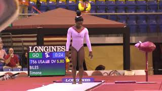 Simone Biles - Vault 2 - 2018 World Championships - Event Finals