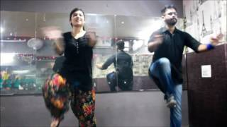 BULLET TAN RAKHIYA PATAKE || BASIC BHANGRA STEPS || Choregraphy By Dansation Mohali (9888892718)