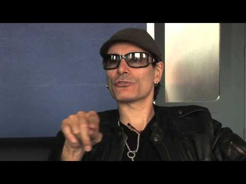 Steve Vai happy with deep depression